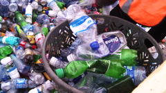 Recycling in Africa. Stock Footage
