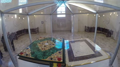 Koranhe world's largest printed Quran. Bolgar, Tatarstan Stock Footage