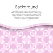 Vector abstract background. Vector booklet list Stock Illustration
