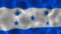 Waving Flag Honduras Stock Footage