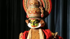 Kerala Traditional Folk Dance 02 Stock Footage