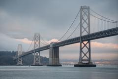 Oakland Bay Bridge Kuvituskuvat