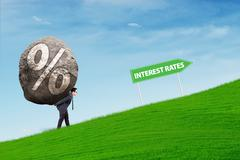 Higher Interest Rates Stock Photos
