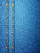 denim with seam vertical - stock illustration