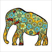 elephant. - stock illustration