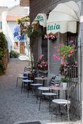 Small cafe in Italian city Kuvituskuvat