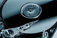 Open HDD - stock photo