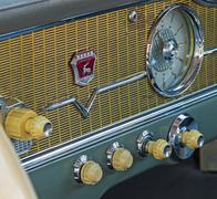 Dashboard car - stock photo