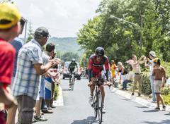 The Cyclist Daniel Oss - Tour de France 2014 - stock photo