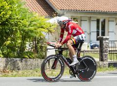 The Cyclist Adam Hansen - Tour de France 2014 - stock photo