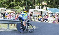The Cyclist Nicolas Roche - Tour de France 2014 - stock photo