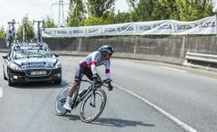 The Cyclist Michal Kwiatkowski - Tour de France 2014 Stock Photos