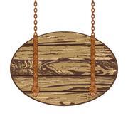 Wooden board Stock Illustration