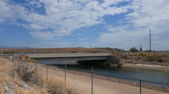 Central Arizona Project CAP Canal Stock Footage