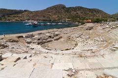 Stock Photo of Amphitheatre of Knidos, Datca, Turkey