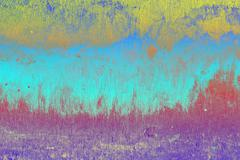 Abstract background colorful, Oxide texture of the wall cement at look like the - stock illustration