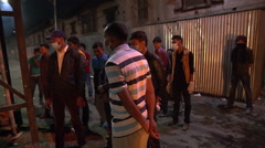 Cremations at Kathmandu Nepal after the Earthquake Stock Footage