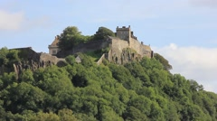 Stirling City Castle. - stock footage