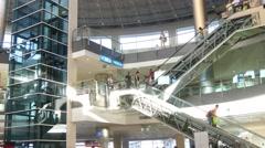 Airport in the city ,Antalya, Turkey  Stock Footage