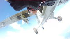 Fun jump skydiving in Norway Kuvituskuvat