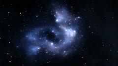 Expanding Nebula - stock footage