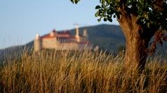 Krasna Horka Castle, Slovakia Stock Footage