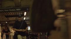 Slow Motion of NewYork Subway Stock Footage