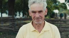 Sad very old man Arkistovideo
