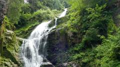 Kamienczyk Waterfall Stock Footage