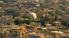 Royalty Free Stock Video Footage panoramic of a Tel Aviv cityscape shot in - stock footage