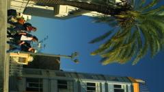 Royalty Free Stock Video Footage of Bialik Square in Tel Aviv shot in Israel at Stock Footage