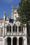 Close up detail of  Sintra Town Hall building Stock Photos