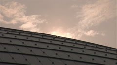 The Egg Opera House close-up, Beijing, China Stock Footage