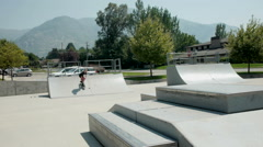 Skater fall off Stock Footage