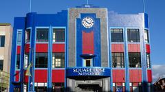 Art Deco Arts Centre Stock Photos