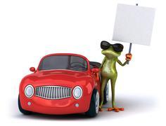 Stock Illustration of Fun frog