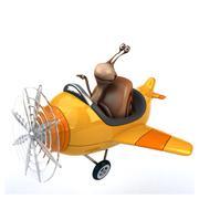Stock Illustration of Fun snail