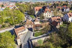 Rothenburg ob der Tauber, Bavaria, Germany - stock photo