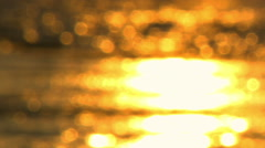 Royalty Free Stock Video Footage of a sunset reflection at Dor Beach shot in - stock footage