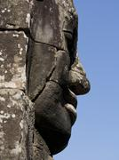 Stock Photo of Detail of carving, Angkor Wat Archaeological Park, UNESCO World Heritage Site,
