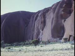 AYERS ROCK ULURU, Australia Stock Footage