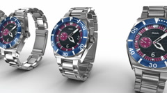 Mechanical wrist watches. My own design Arkistovideo