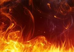 Fire background - stock illustration
