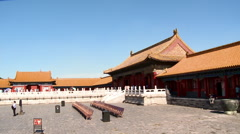 Chinese Imperial Palace, Forbidden City Stock Footage