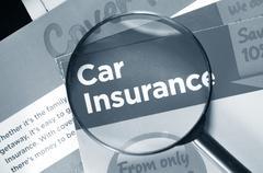 Car insurance Stock Photos