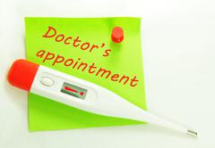 Doctor's appointment Stock Photos
