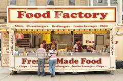 Food Factory - stock photo