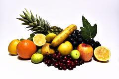 Tasty Fruits. Organic Food. Natural Fruits. healthy Fruits - stock photo