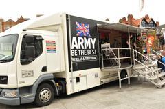 Army recruitment - stock photo