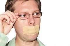 Censorship - stock photo